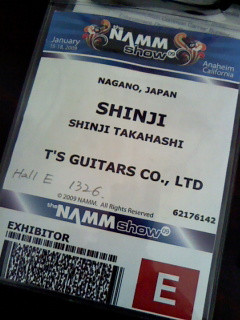NAMM Badge